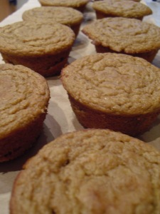 Whole Wheat Persimmon Muffins