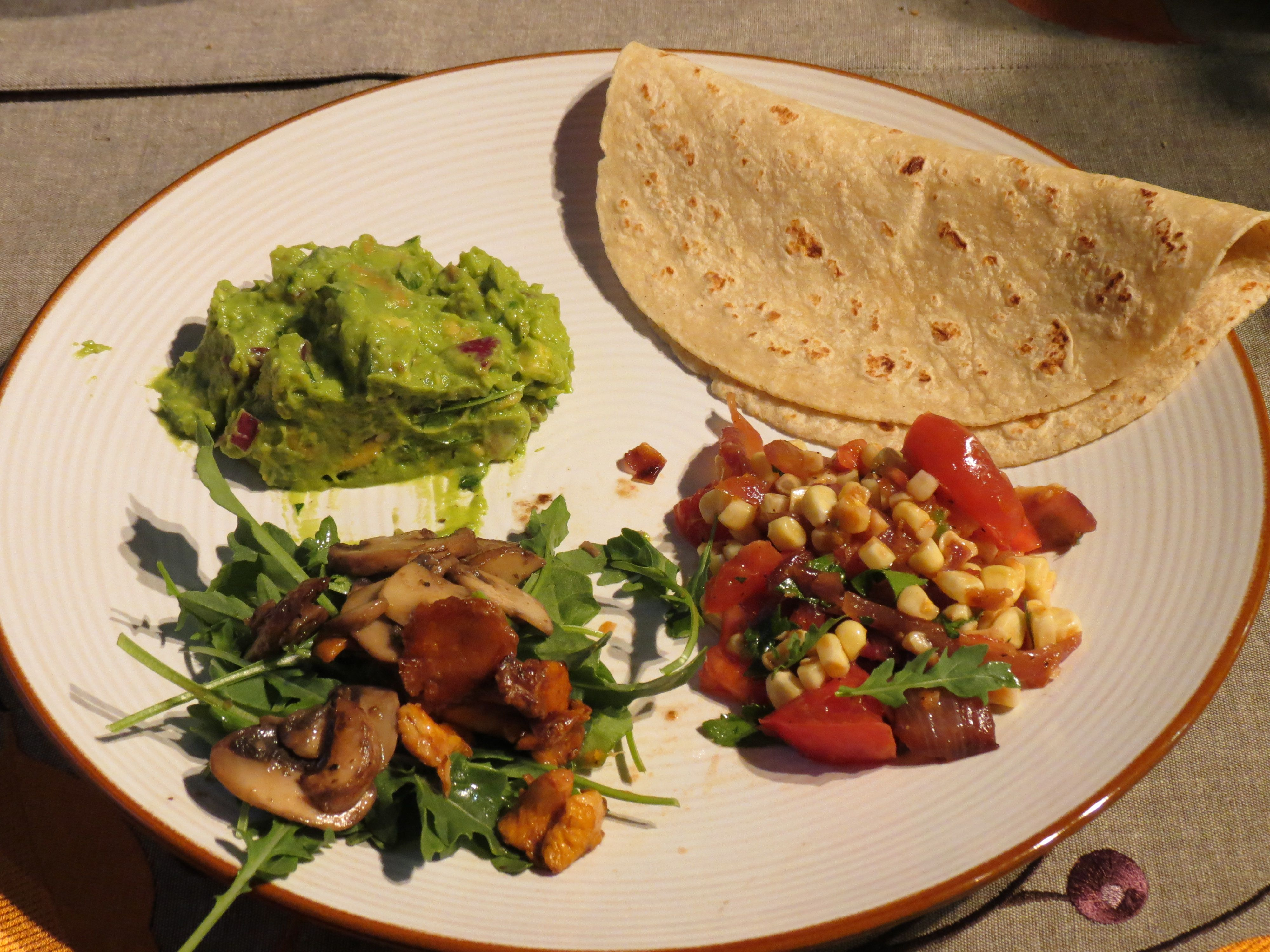 Vegan Tacos with Guacamole and Corn Relish | Foodies and the Feast